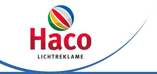 Haco Lichtreclame Nieuwegein