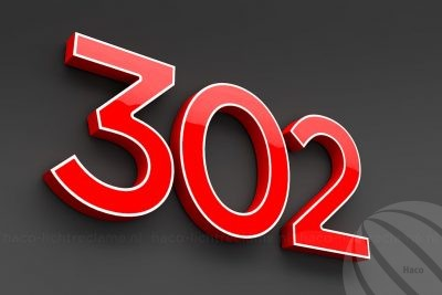 LED letters 302